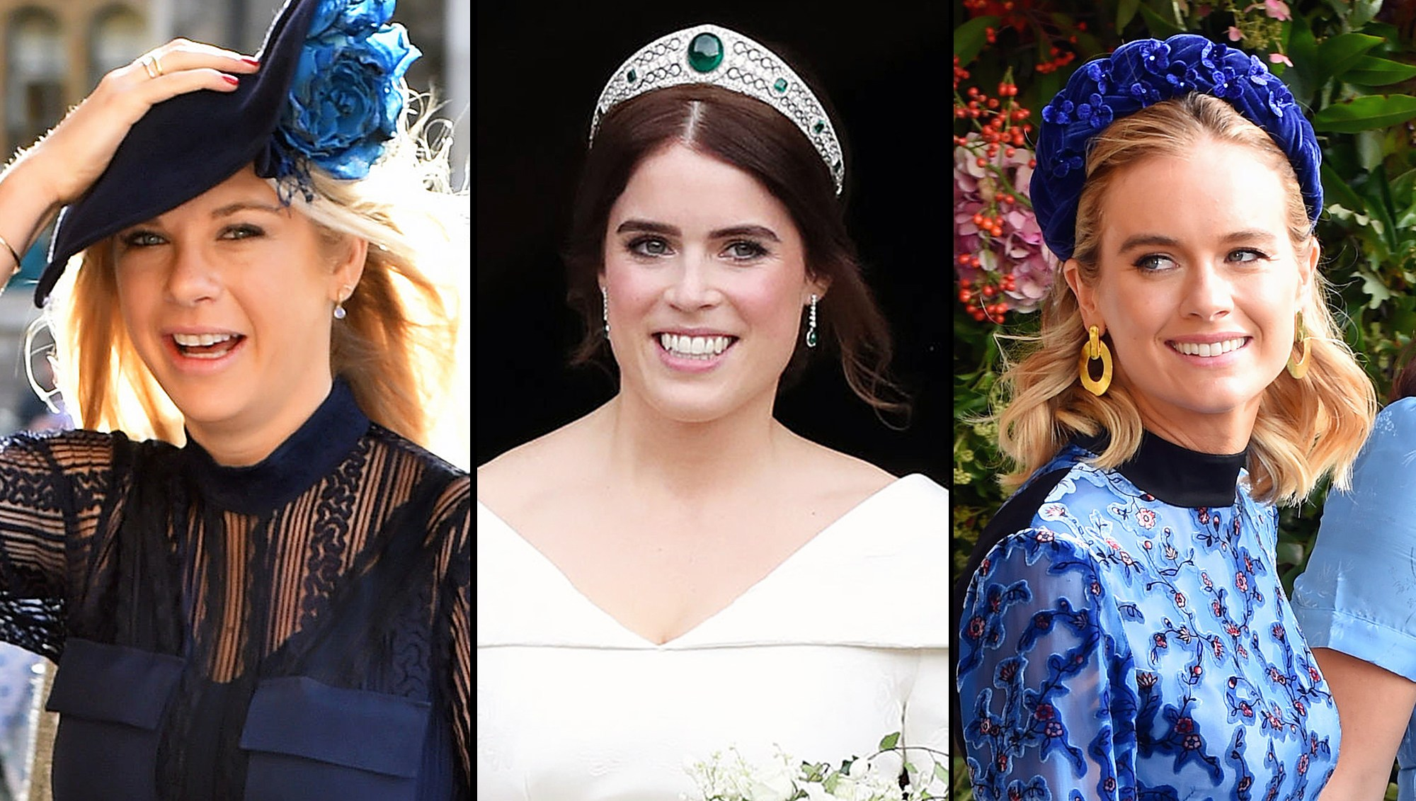 Chelsy Davy Cressida Bonas Princess Eugenie Wedding Prince Harry Ex