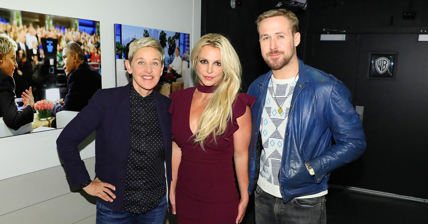 Mouseketeers Britney Spears, Ryan Gosling Reunite 25 Years Later