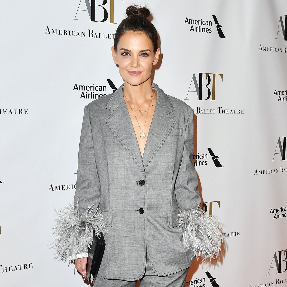 Katie Holmes American Ballet Theater Fall Gala Suit