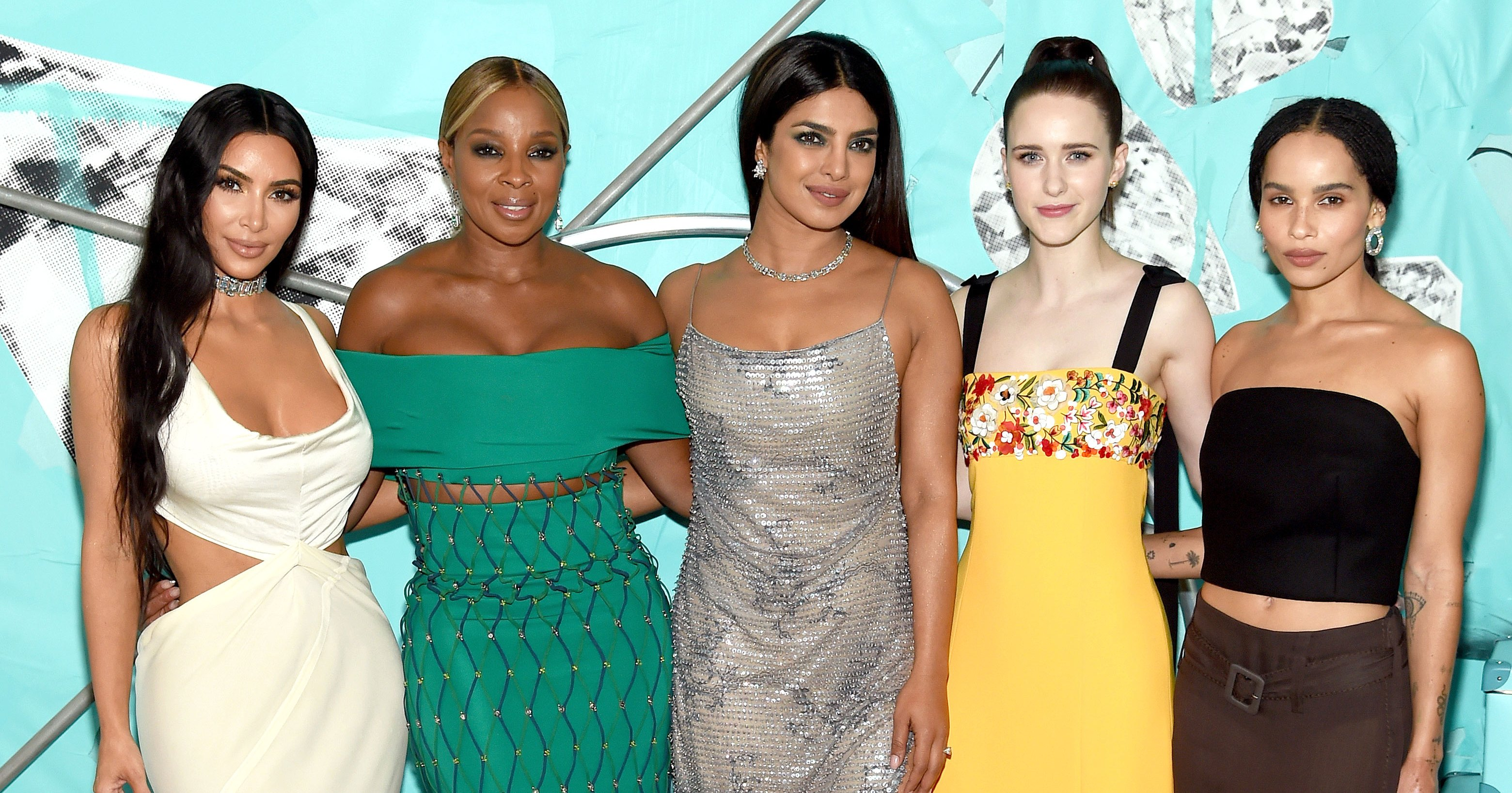 See What the Stars Wore to Celebrate the 2018 Tiffany Blue Book Collection
