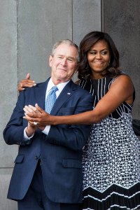 George W. Bush Michelle Obama