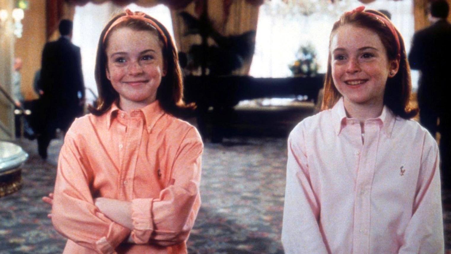 Lindsay Lohan in 'Parent Trap.'