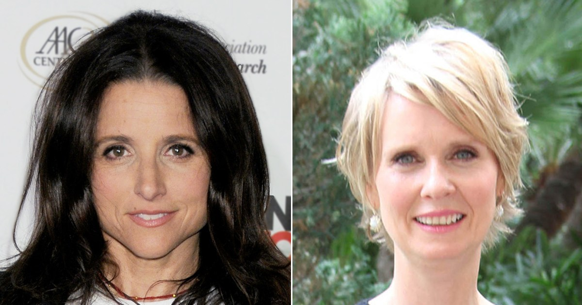 Stars Who Beat Breast Cancer: Julia Louis-Dreyfus, Cynthia Nixon and More