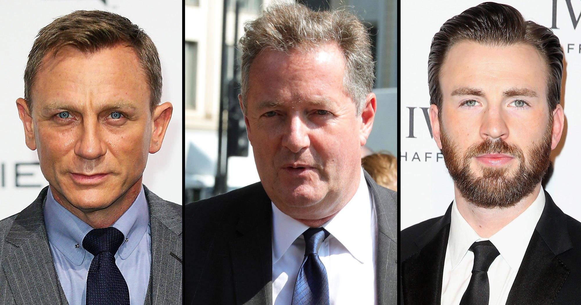 Daniel Craig Gets Dad-Shamed by Piers Morgan — and Chris Evans Claps Back