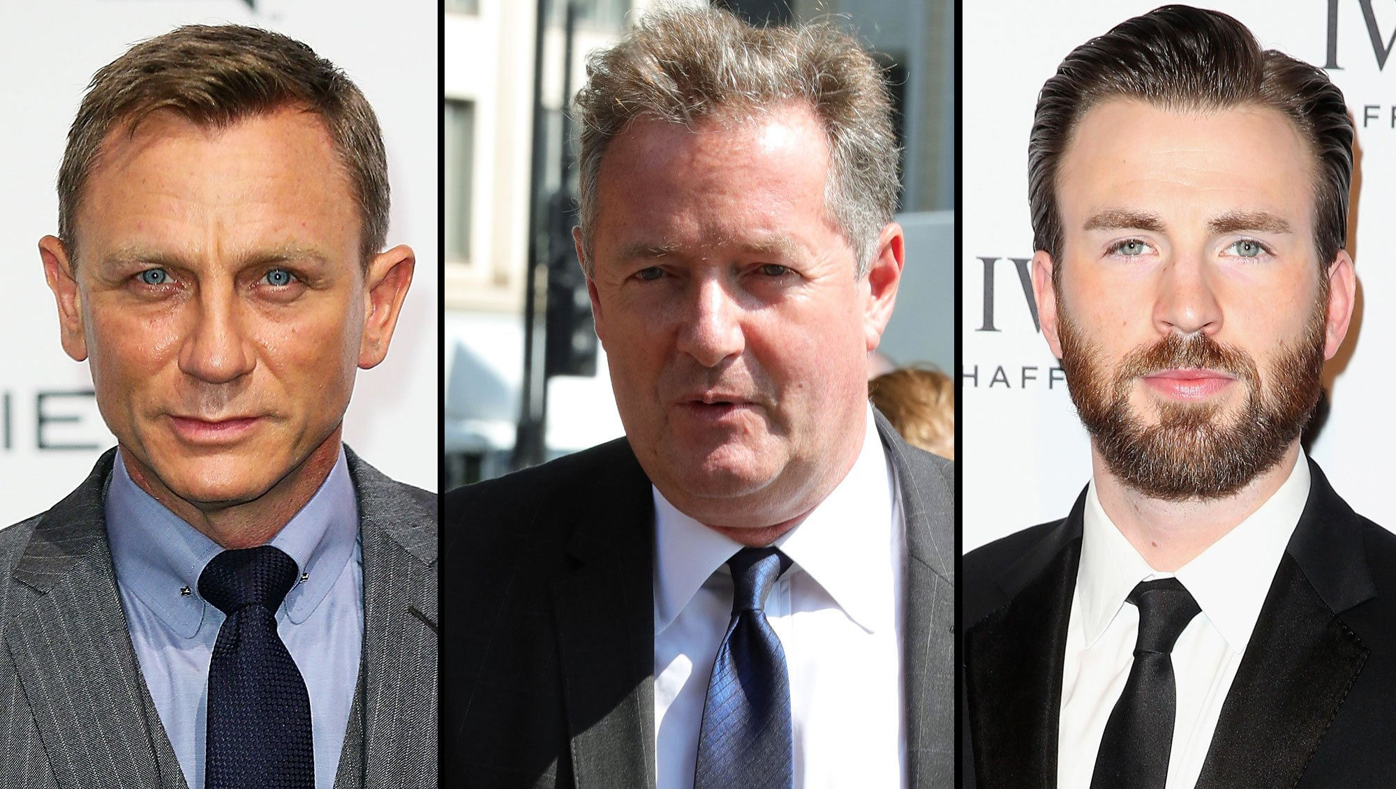 Daniel Craig Got Dad-Shamed by Piers Morgan and Chris Evans Clapped Back