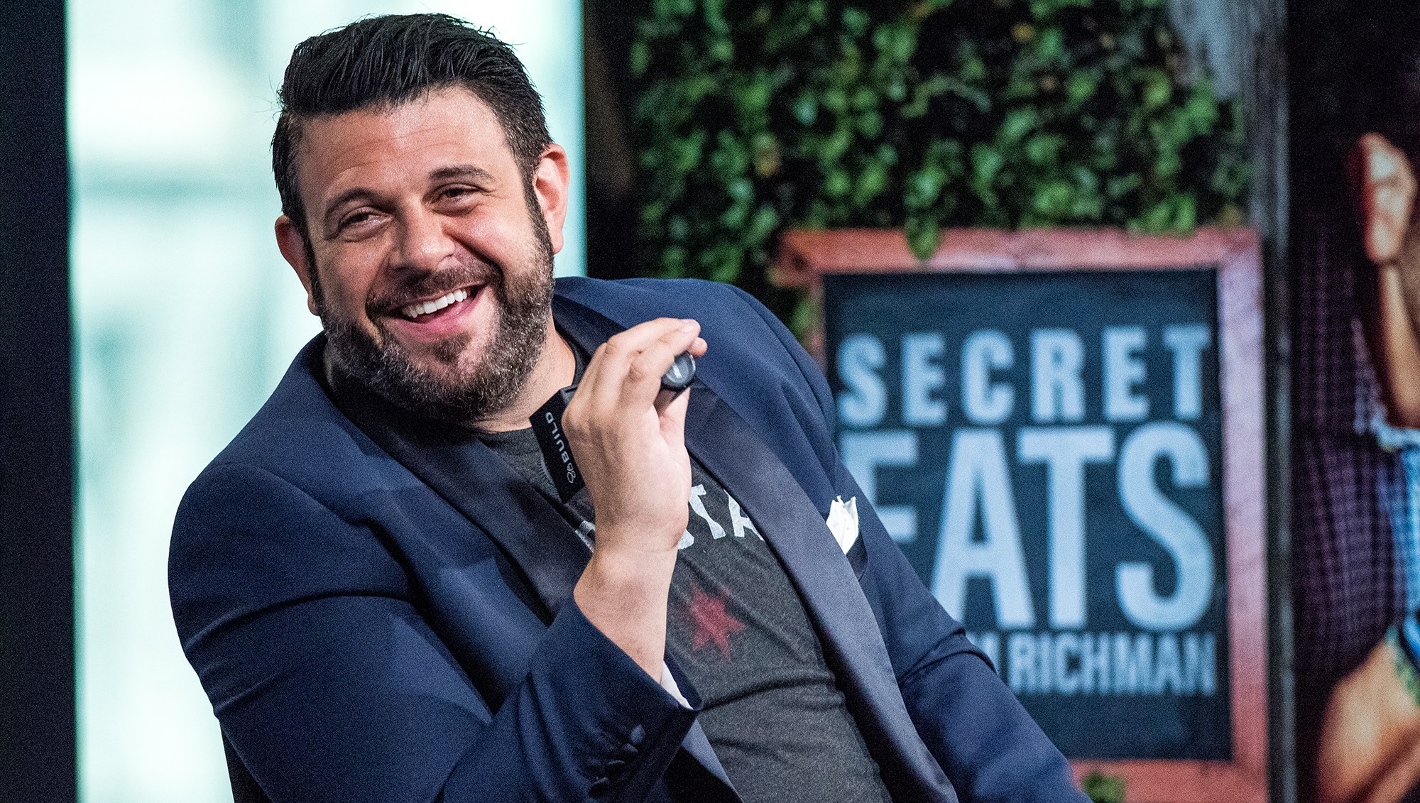 Adam Richman's Broken-Candy Ice Cream Sandwich Puts Leftover Halloween Candy to Good Use