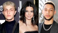 Anwar Hadid, Kendall Jenner, and Ben Simmons