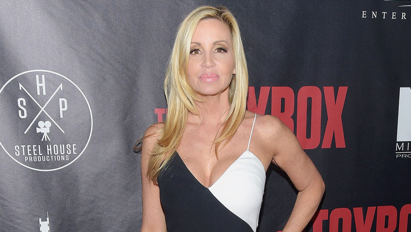 Camille Grammer, House, Fire