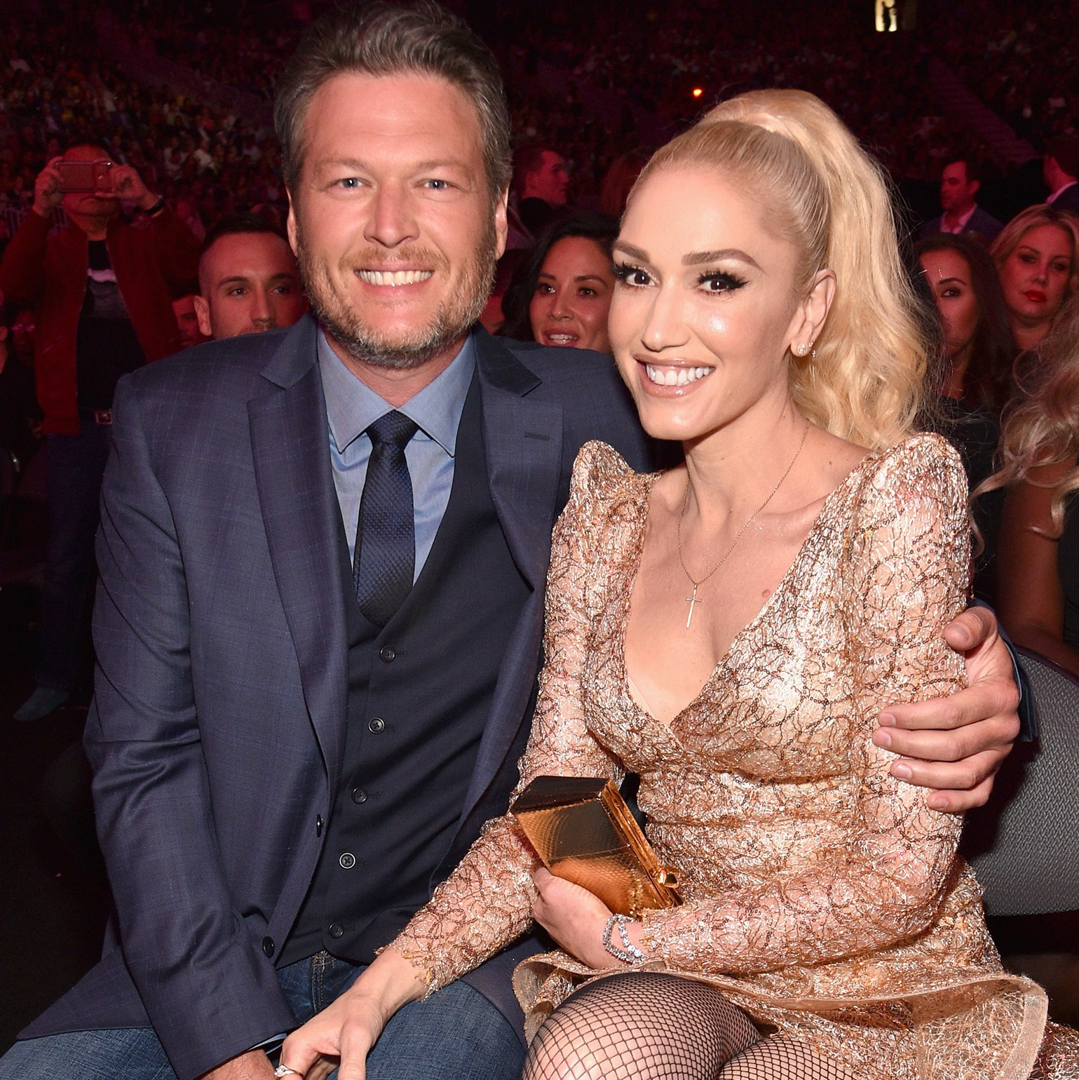 Blake Shelton and Gwen Stefani surrogate