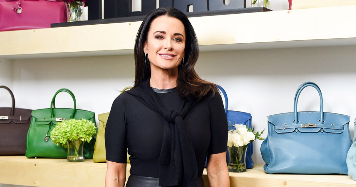 Kyle Richards I Want To Be Friends With Lisa Vanderpump Despite