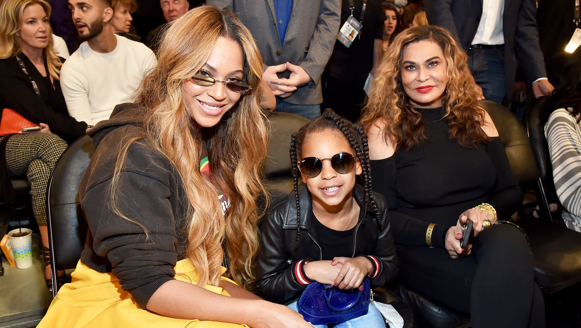 Tina Knowles Lawson Blue Ivy Beyonce