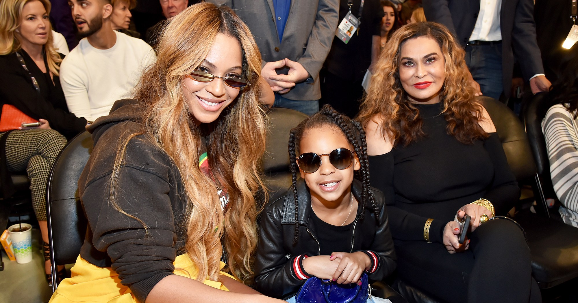 Blue Ivy Has Been Performing 'Since Birth,' Beyonce's Mom Gushes