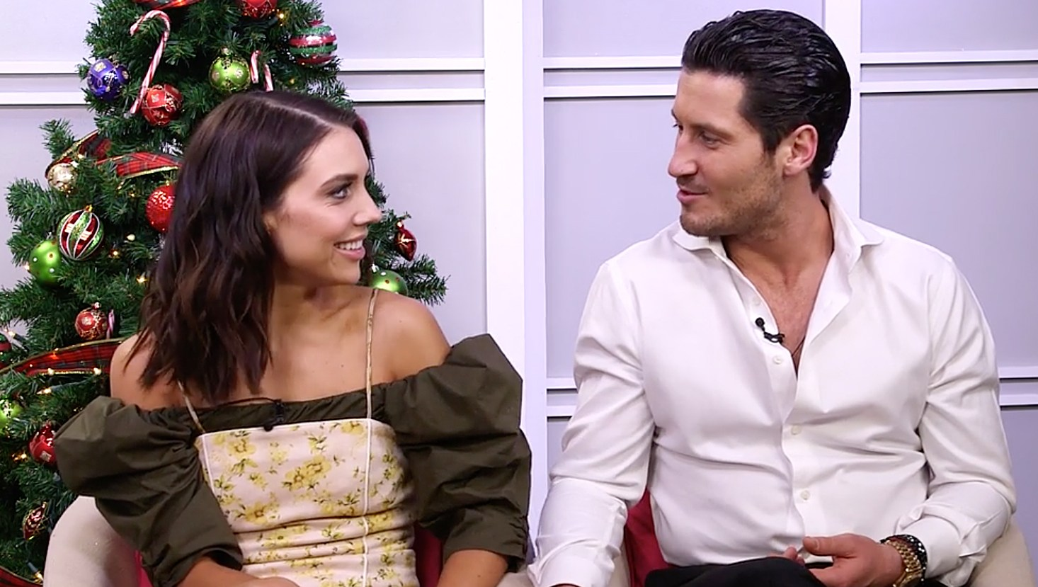 Val Chmerkovskiy and Jenna Johnson Give New 'DWTS' Couple Alan Bersten and Alexis Ren Advice
