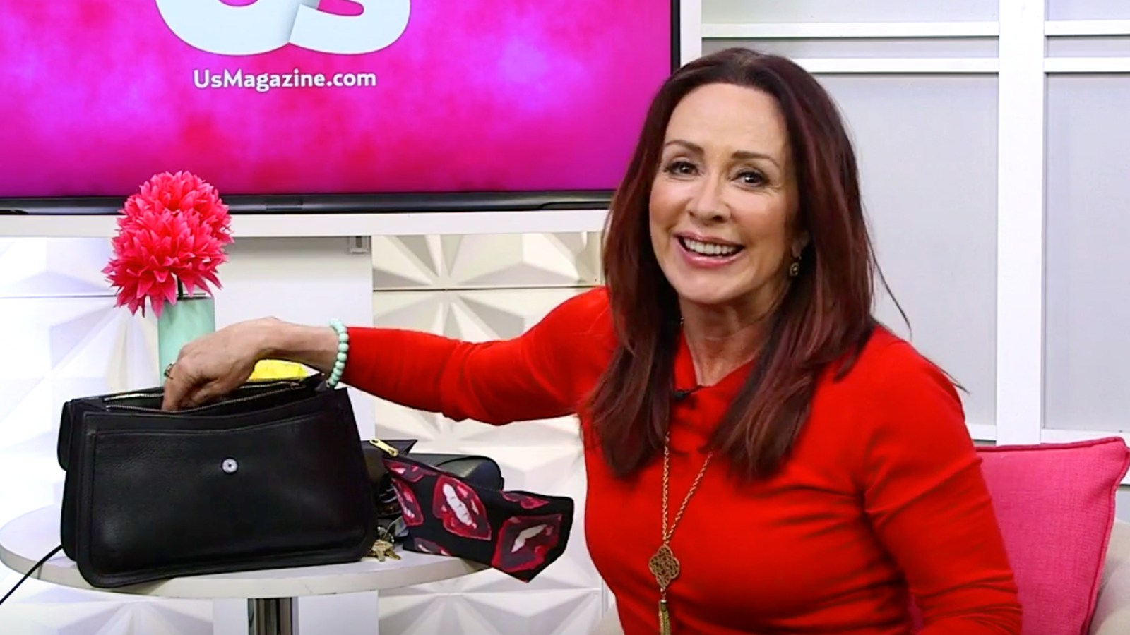 8624c04dcaf Patricia Heaton  What s In My Bag