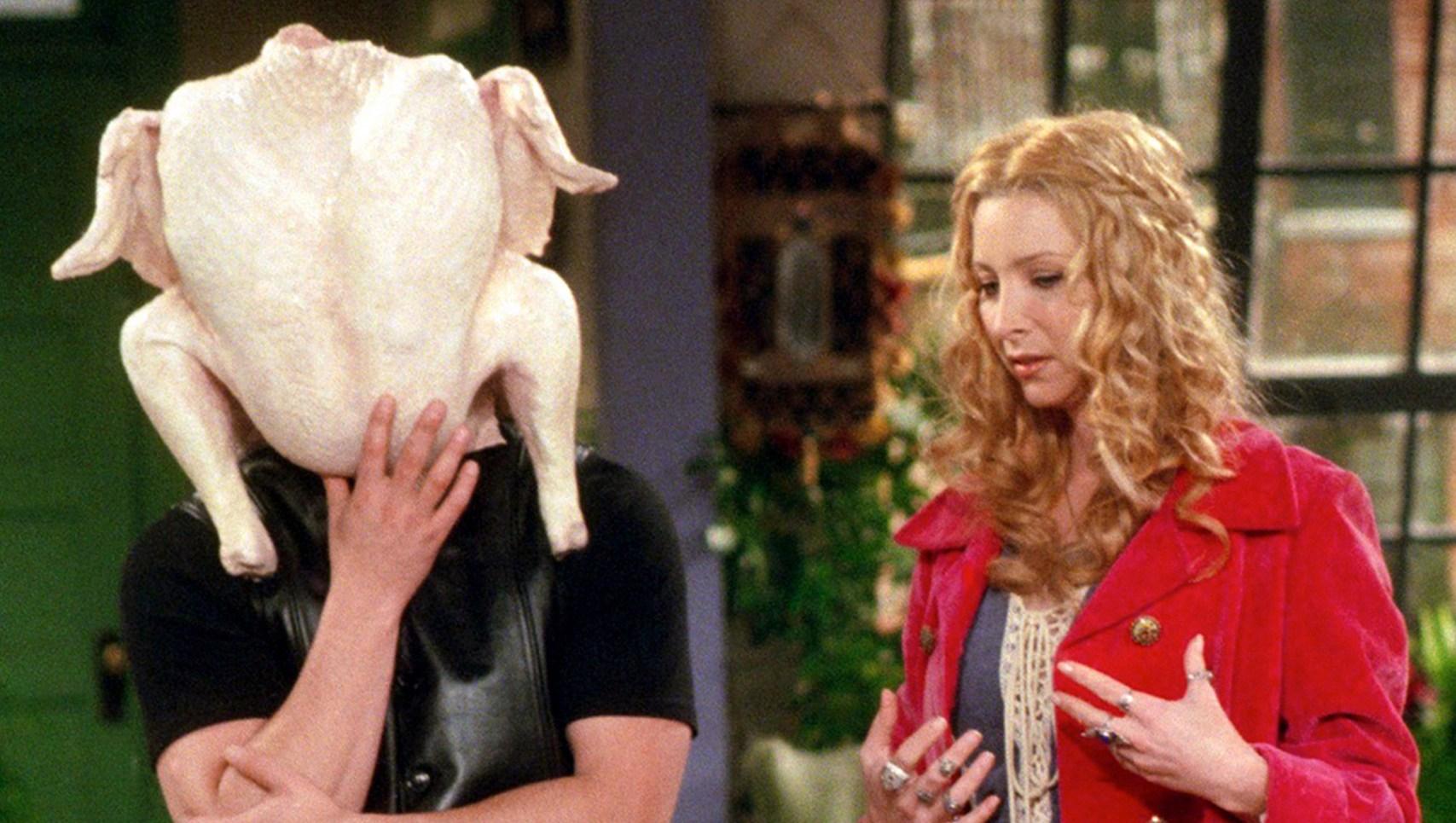 'Friends' Thanksgiving episode