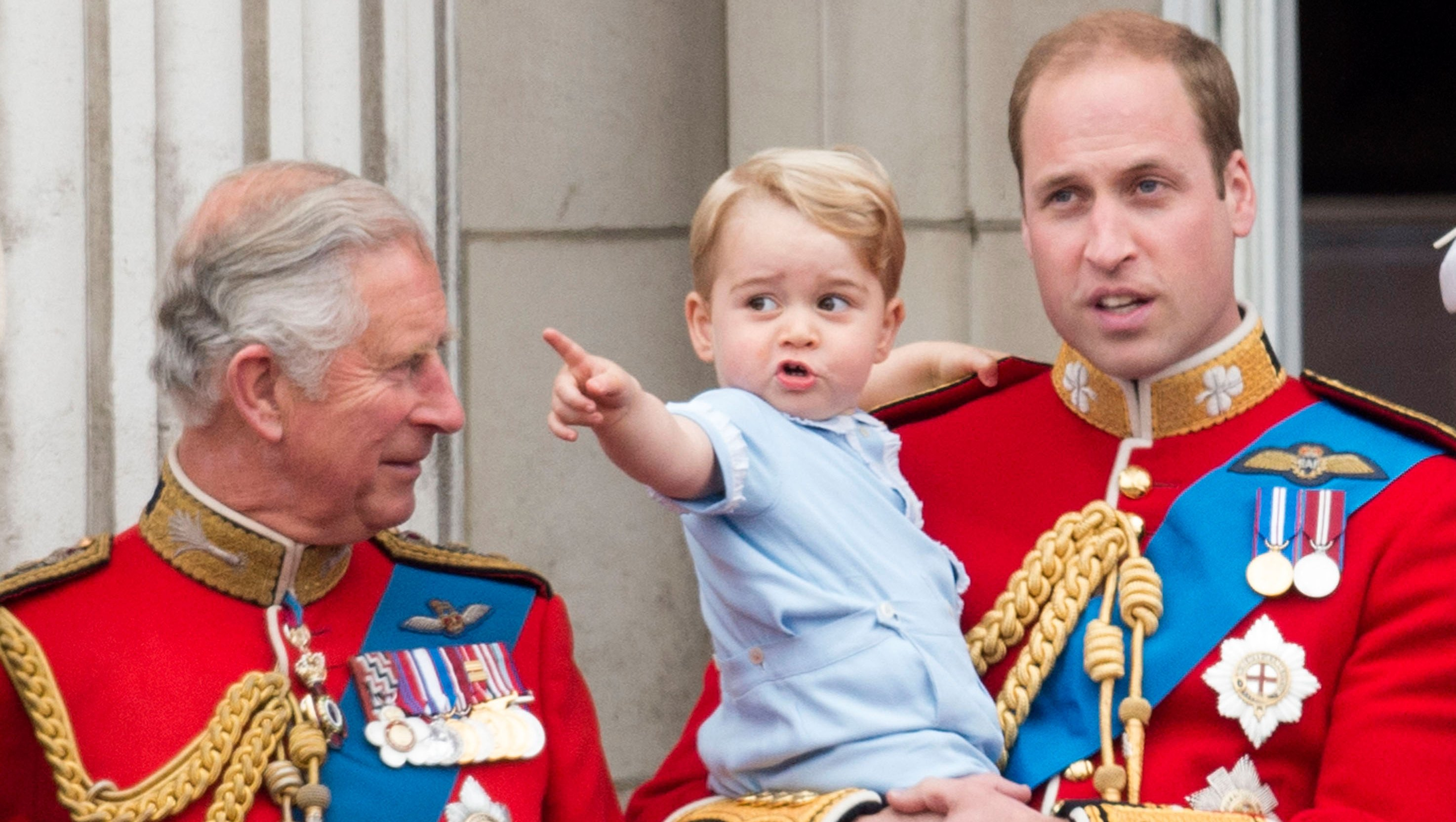 Prince Charles Prince William Prince George
