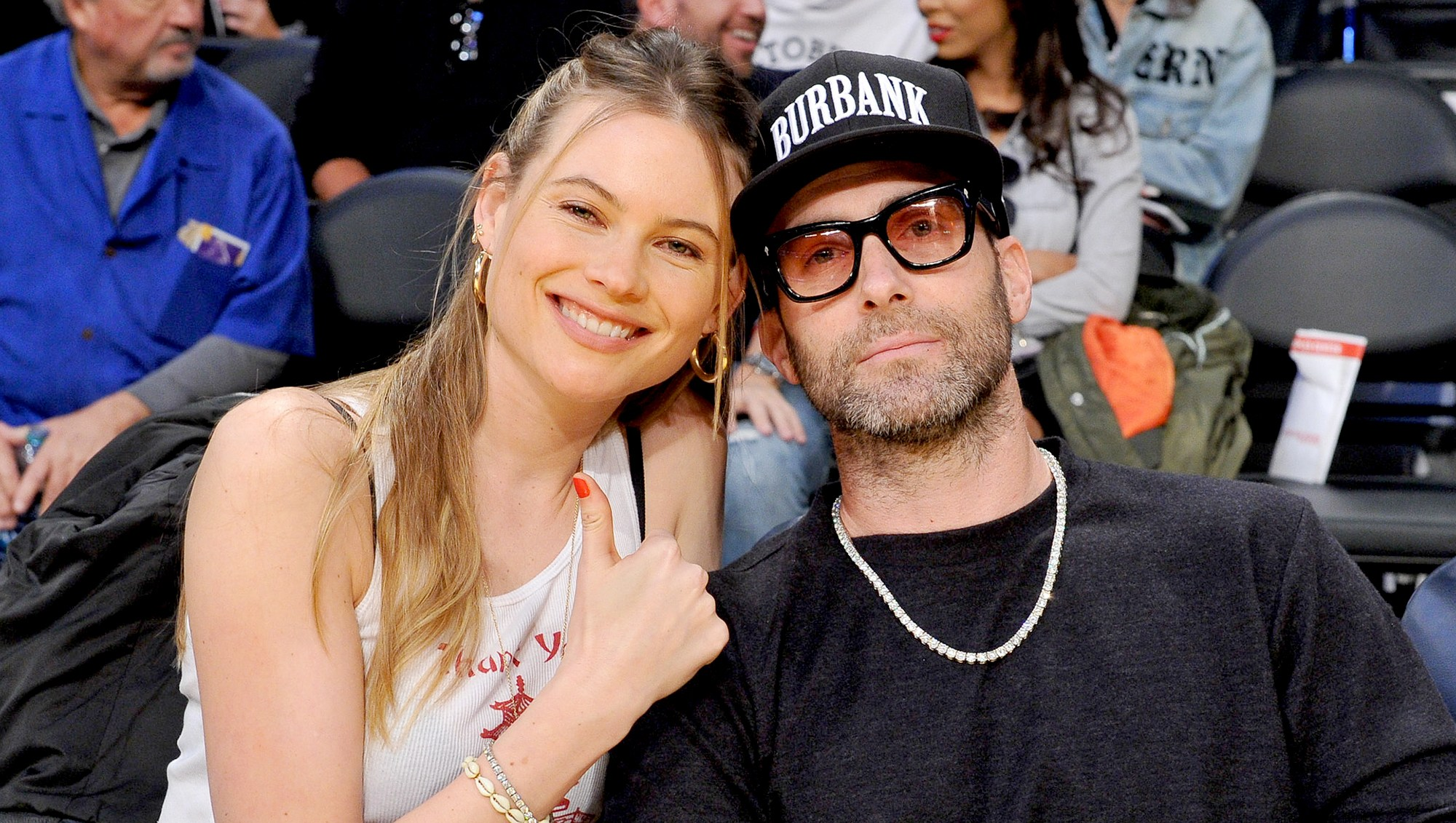 Behati-Prinsloo-and-Adam-Levine-Christmas-plans