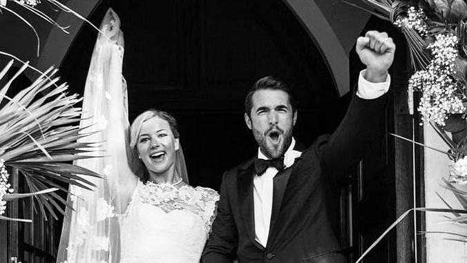 Emily VanCamp Eternally Grateful Joshua Bowman Wedding