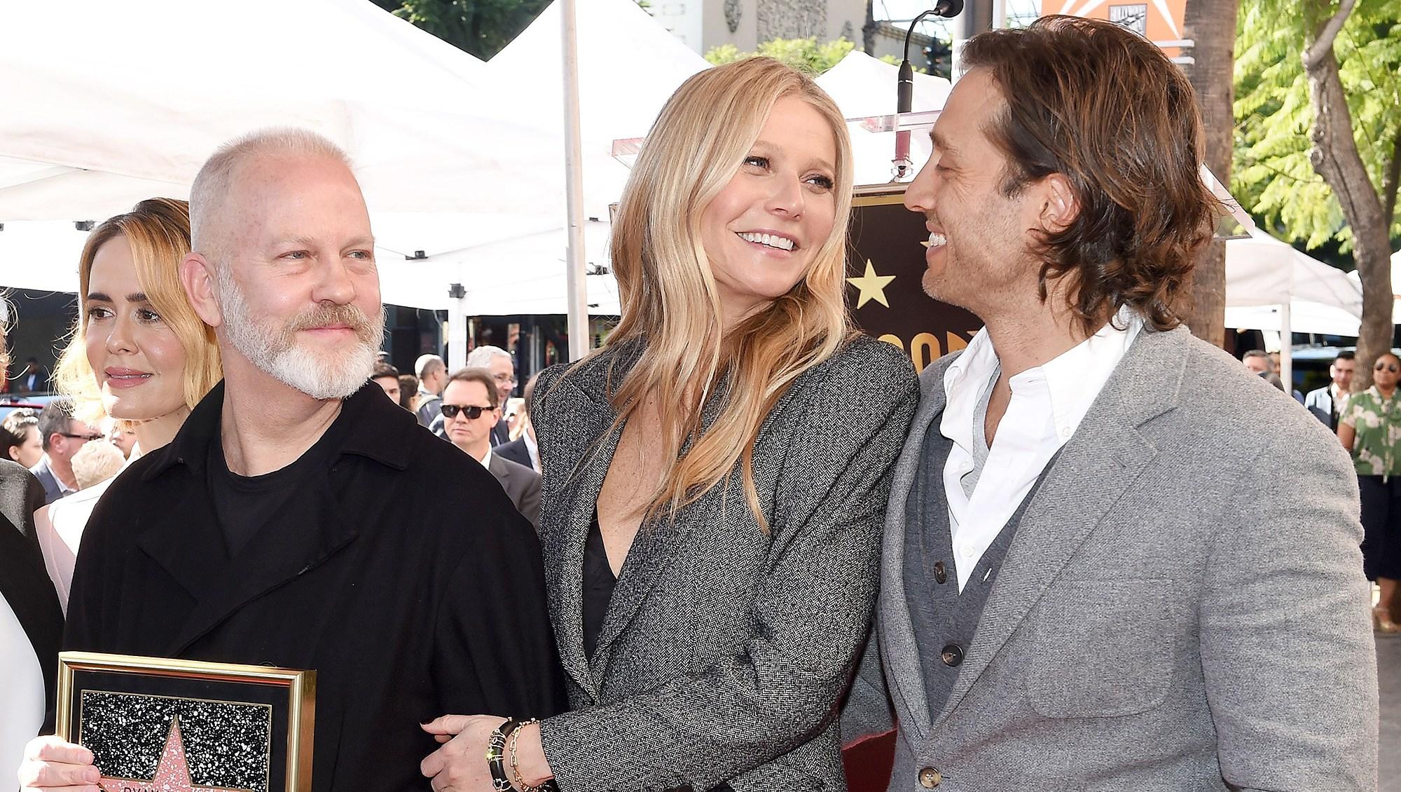 Gwyneth Paltrow Brad Falchuk Praise Ryan Murphy For Introducing Them