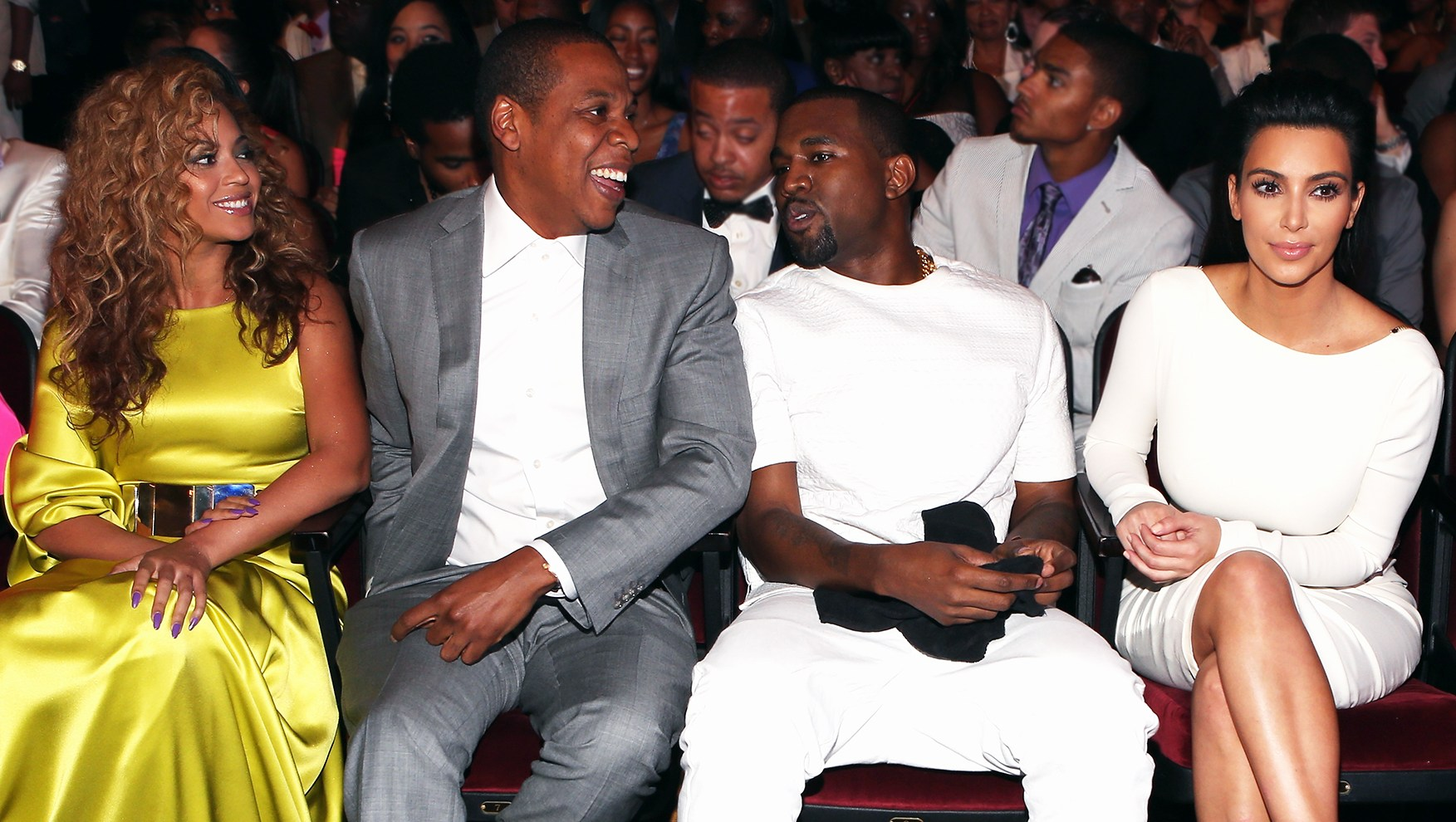 Kim Kardashian, Kanye West, Beyonce and Jay-Z Attend Travis Scott's Astroworld Concert