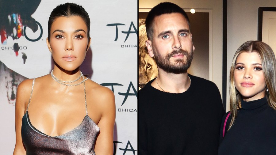 Kourtney Kardashian Is Now in a 'Much Better Space' With Scott Disick and Sofia Richie