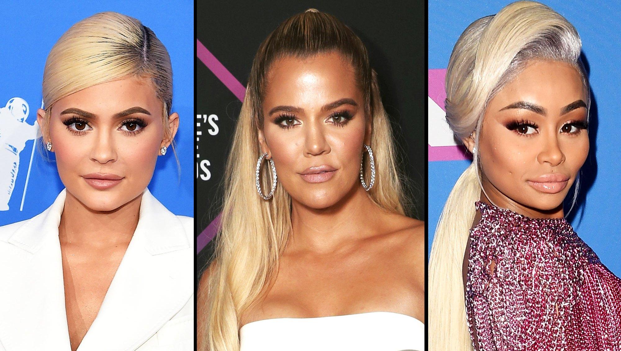 Kylie Jenner, Khloé Kardashian and Blac Chyna