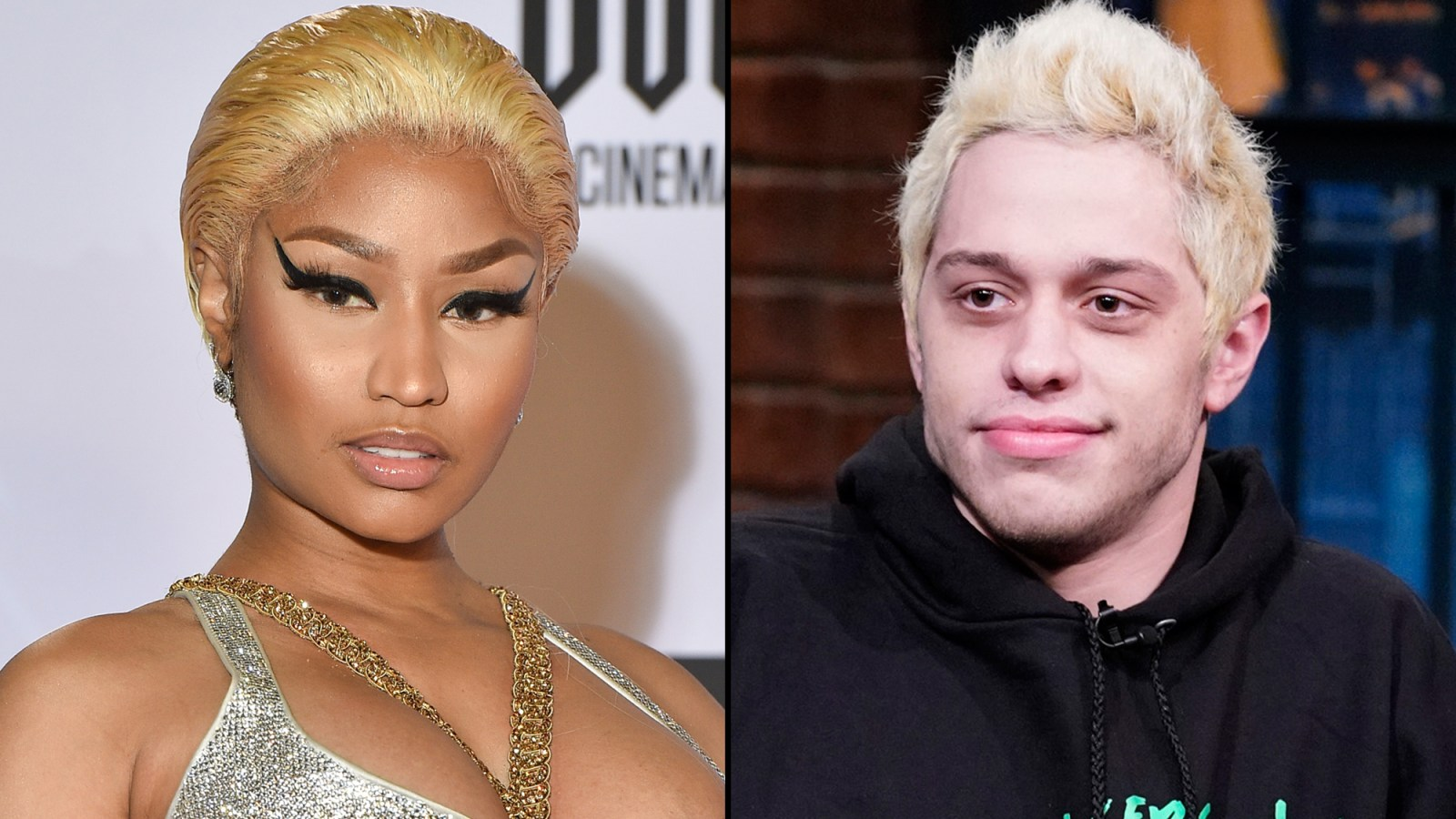 Nicki Minaj Supports Pete Davidson After He Posts Sad Note