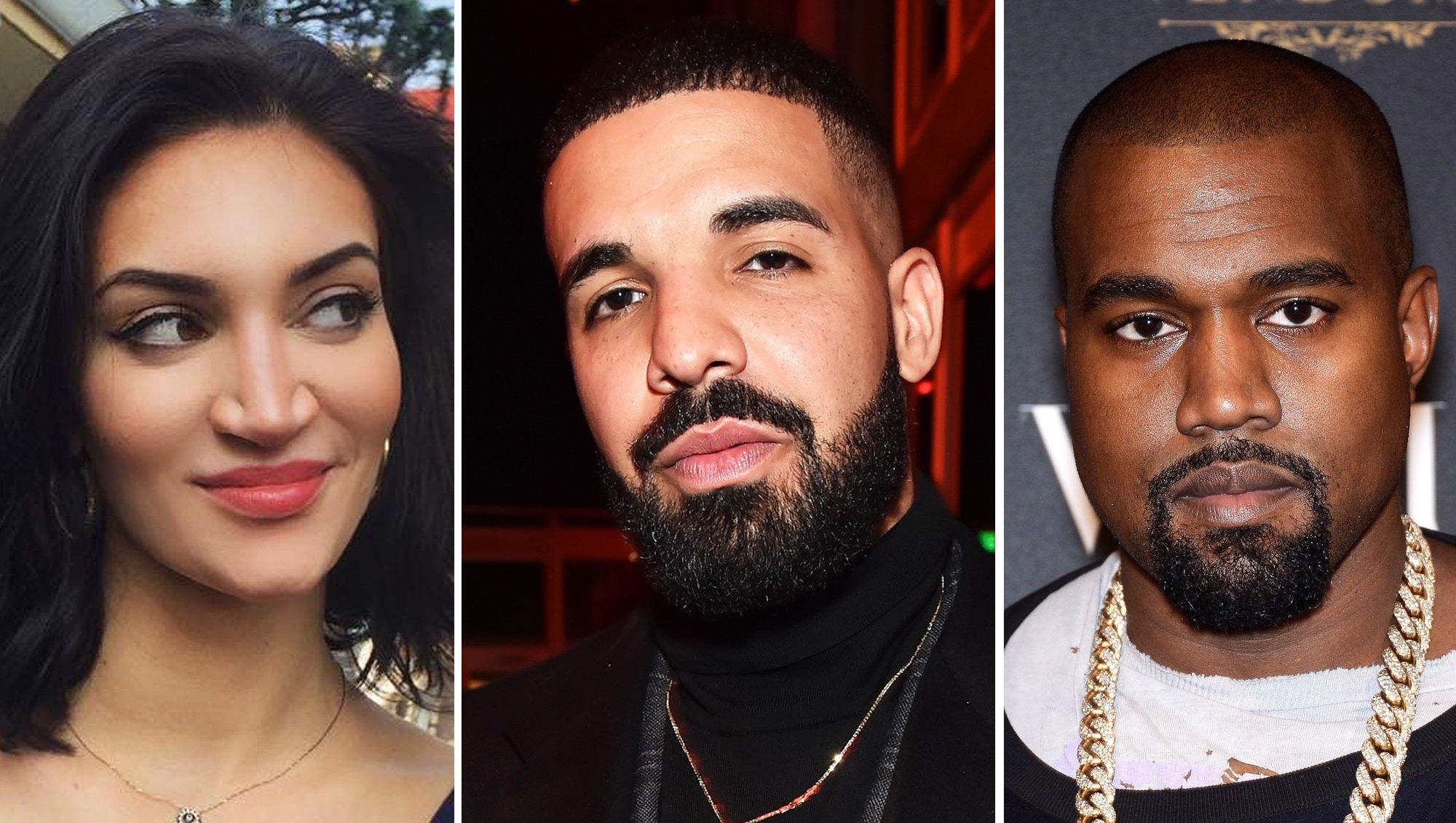 Sophie Brussaux, Drake and Kanye West