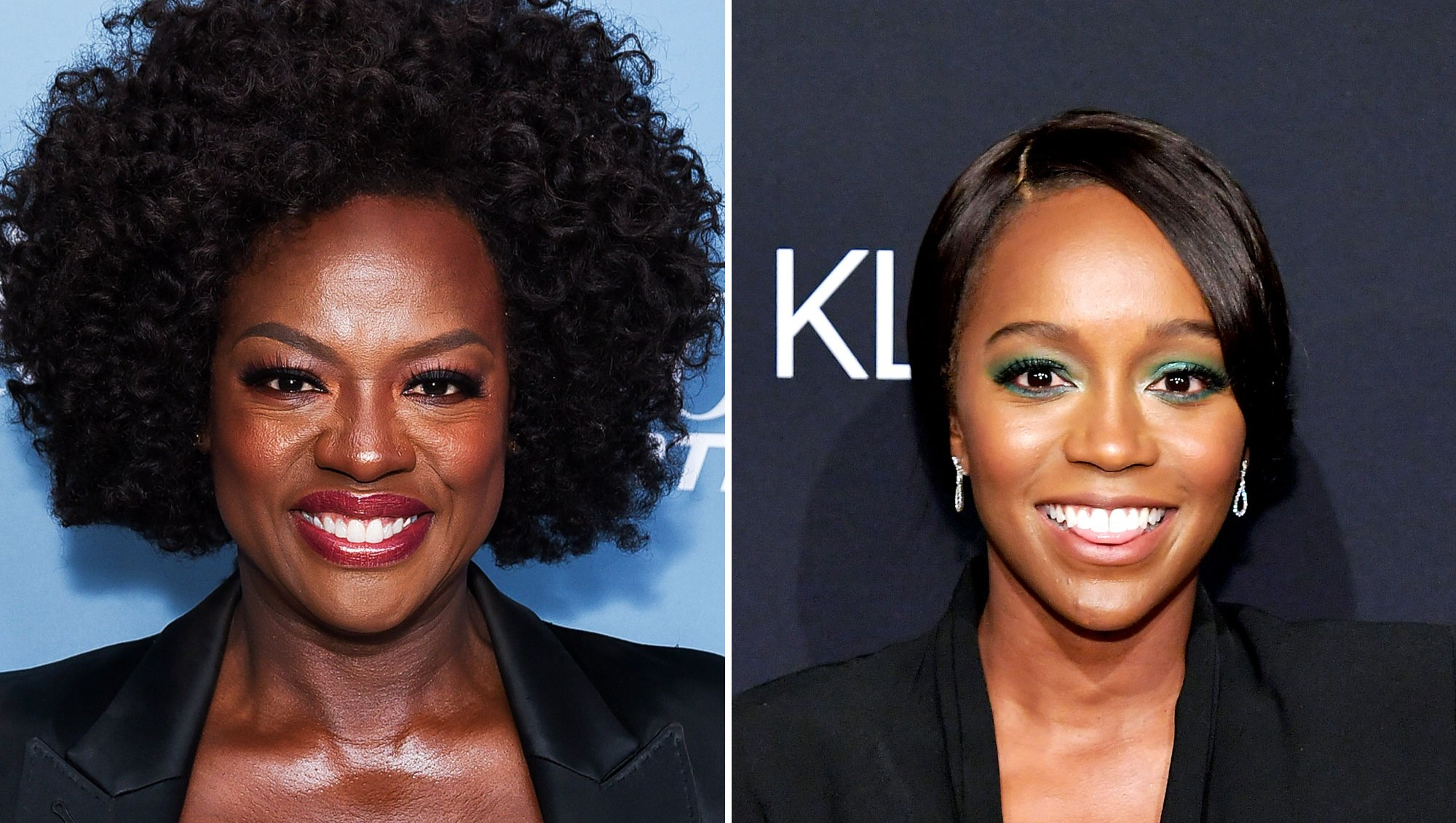 Viola Davis and Aja Naomi King