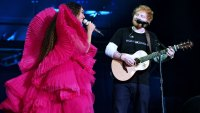 ed sheeran defends outfit