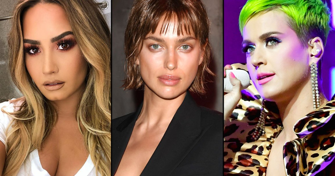 The Top 10 Most Shocking Celeb Hair Changes of 2018
