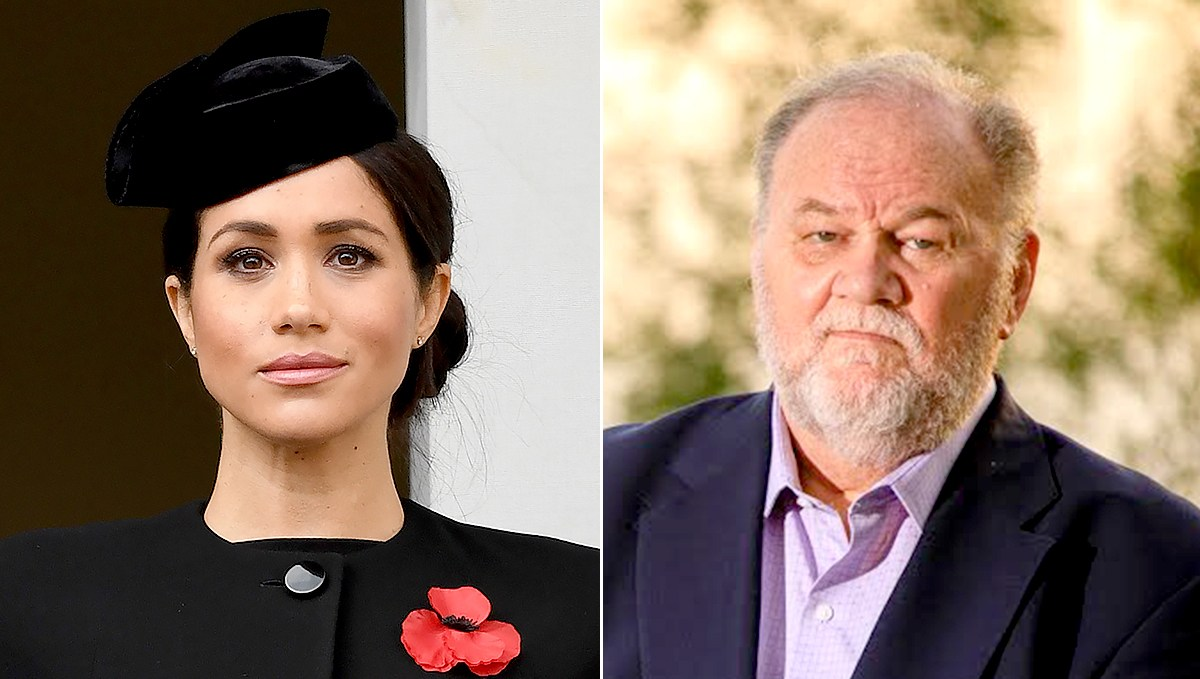 Duchess Meghan and Thomas Markle