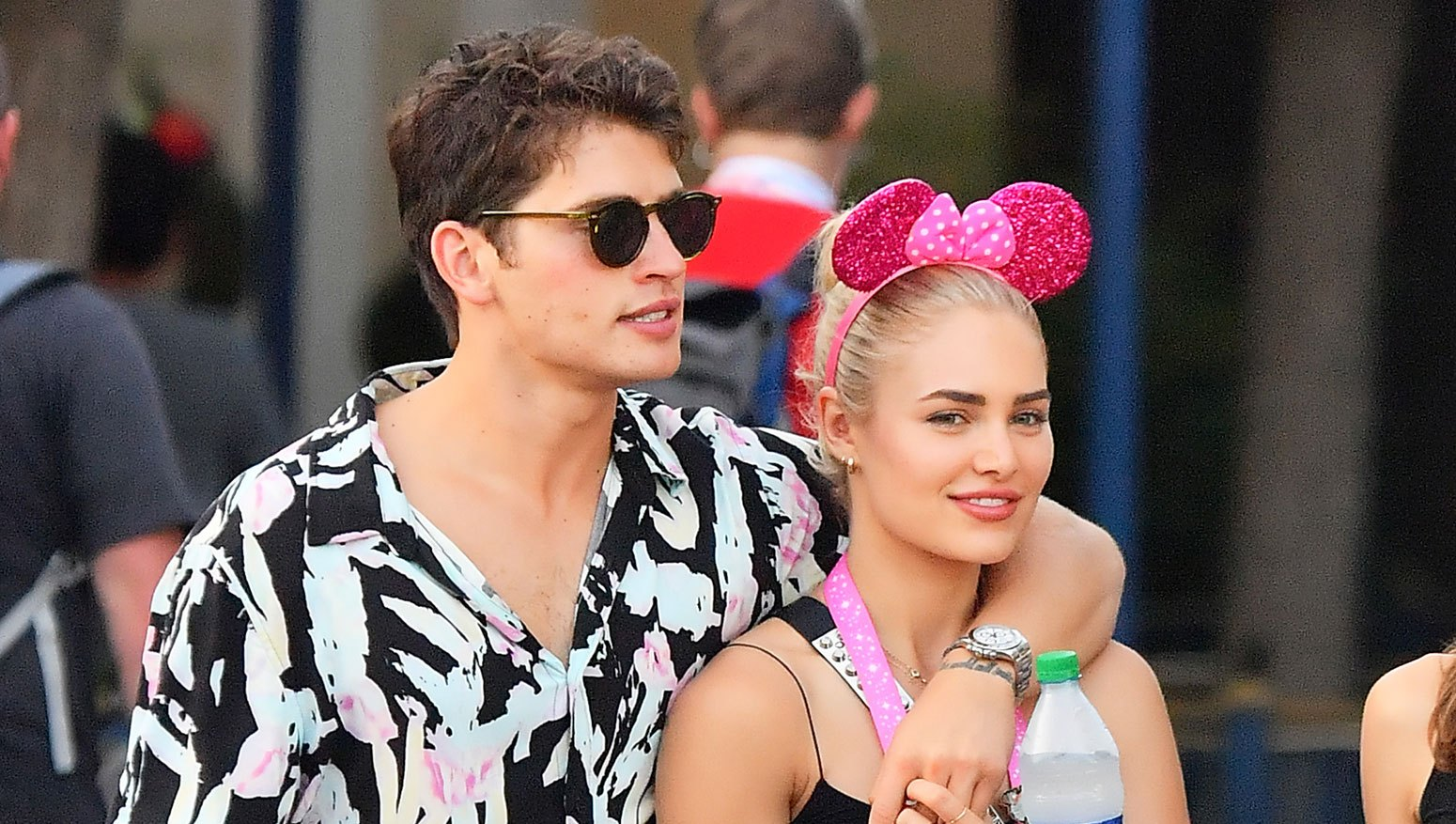 Gregg Sulkin and his girlfriend Michelle Randolph
