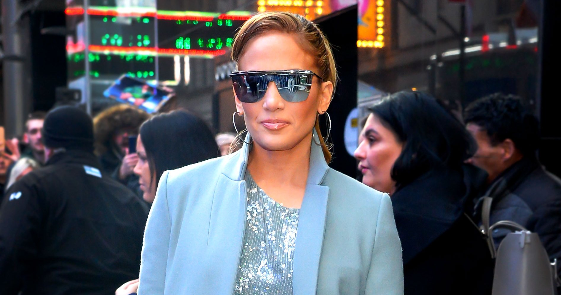See All of Jennifer Lopez's Glam Fashion Looks From Her 'Second Act' Movie Press Tour