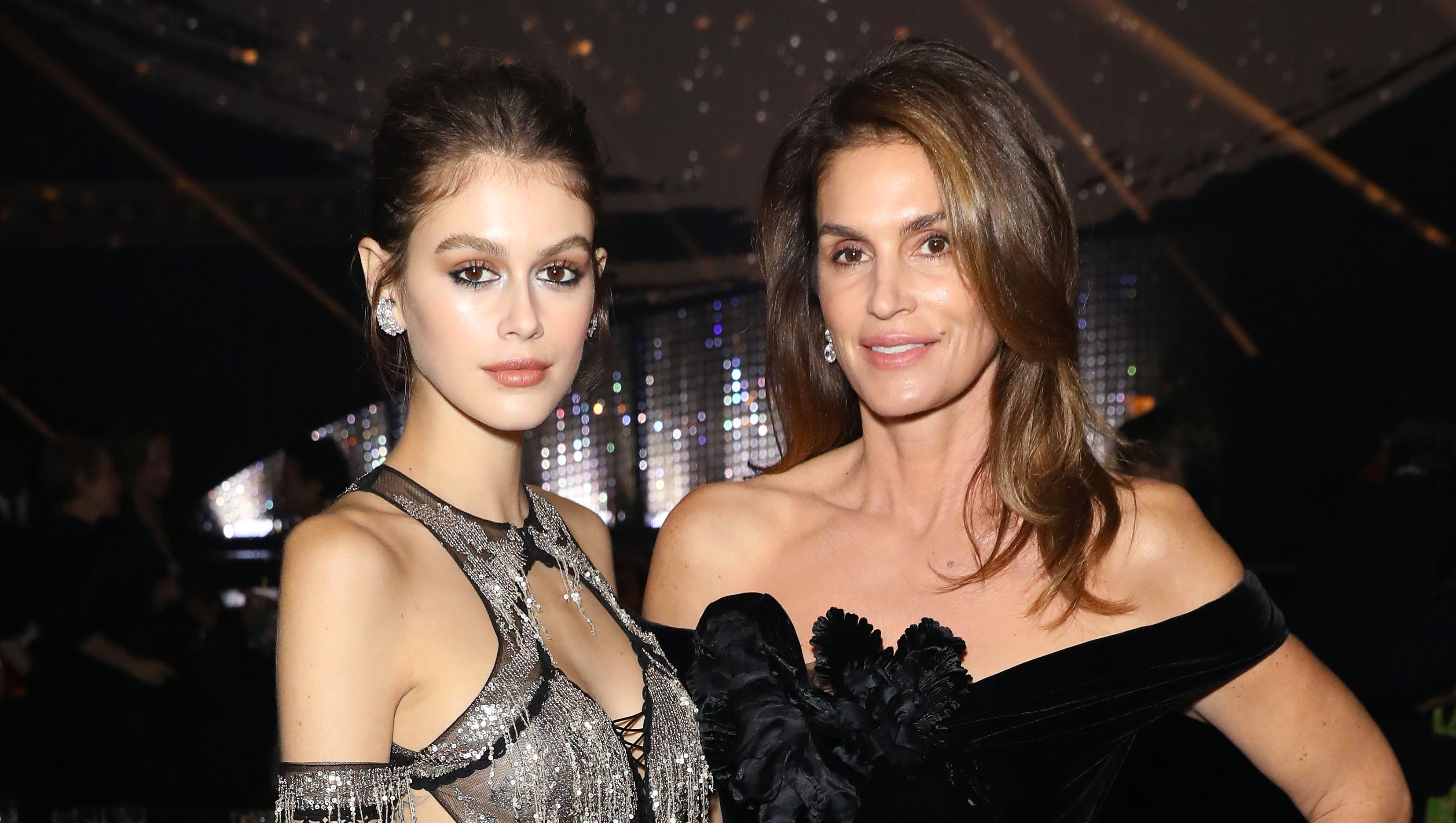 Kaia Gerber and Cindy Crawford