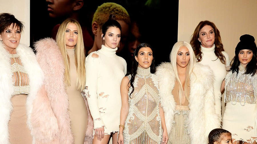 The Kardashian Family's 2018 Holiday Card Was 'Digitally Altered'