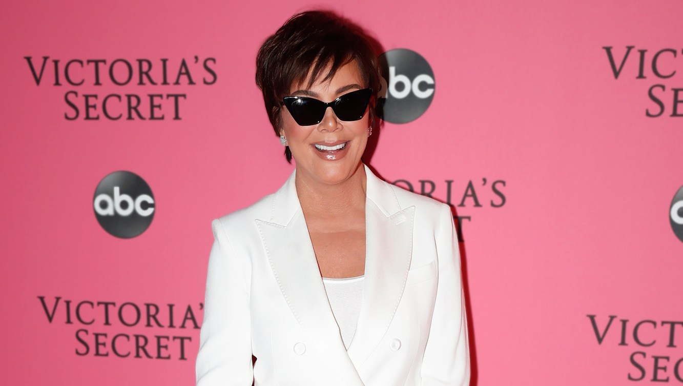 Kris Jenner Embodied Her 'Thank U, Next' Character at Kendall Jenner's VS Fashion Show