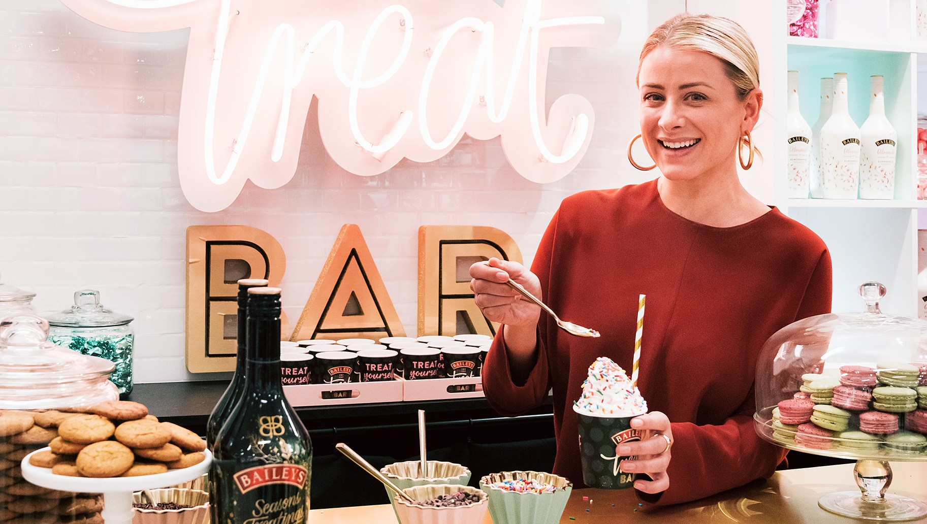 Lo Bosworth Baileys Treat Bar Saks Fifth Avenue