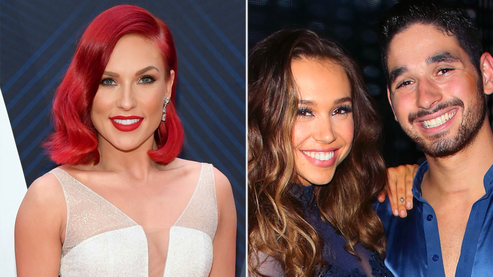 b626e9f928b8c Sharna Burgess on Alexis Ren and Alan Bersten s Onscreen Relationship  It  Put  a Little Bit Too Much Pressure on Them