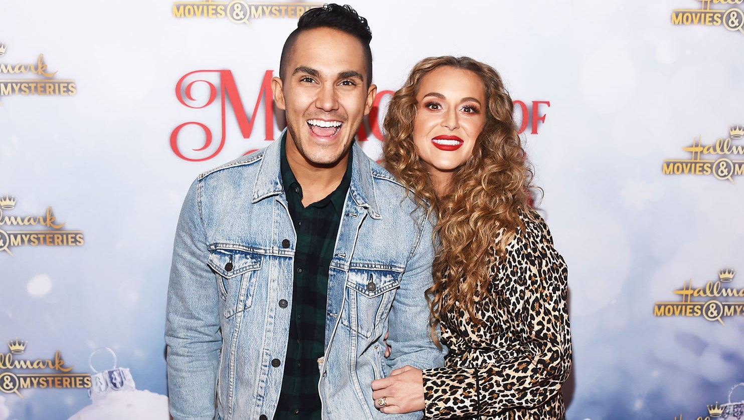 Actor Carlos PenaVega (L) and actress Alexa PenaVega