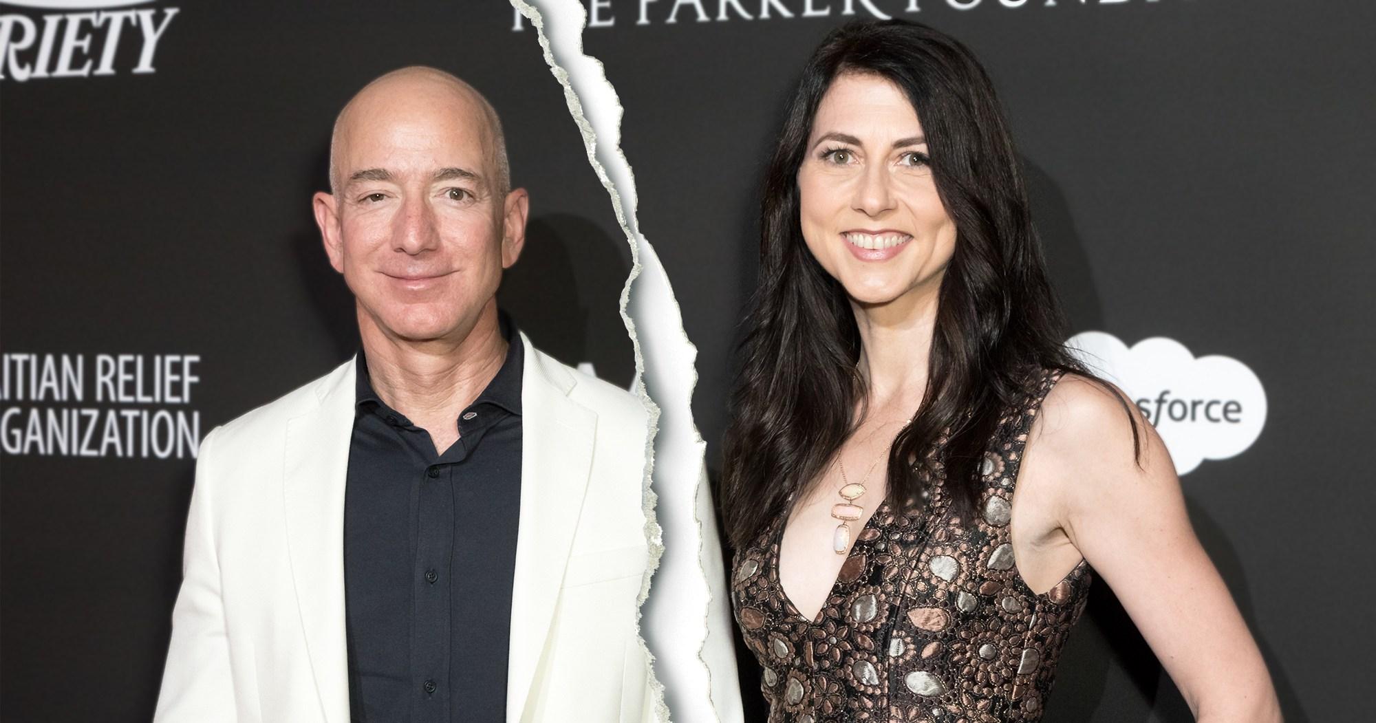Amazon Ceo Jeff Bezos Announces 160 Billion Divorce