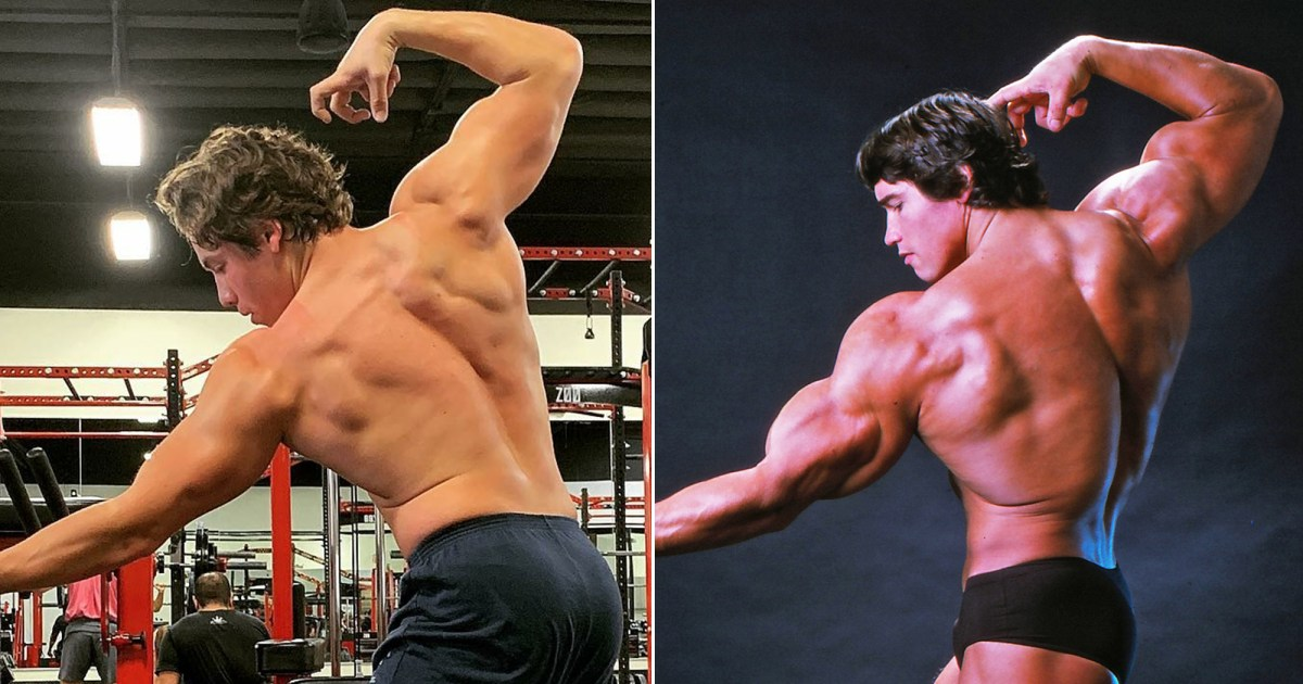 Arnold Schwarzenegger's Son Recreates His Iconic ...