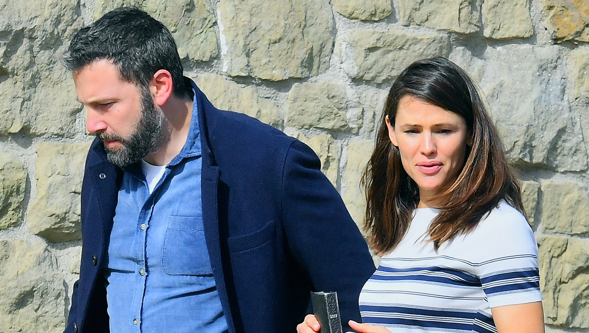 Ben Affleck and Jennifer Garner Reunite for Family Church Outing 2 Months After Finalizing Divorce