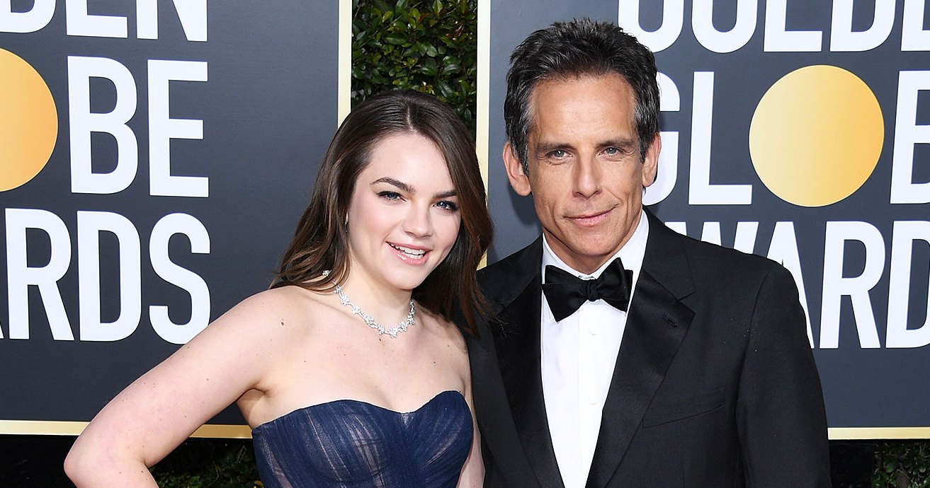 Ben Stiller Takes Daughter Ella, 16, as His Date to the Golden Globes