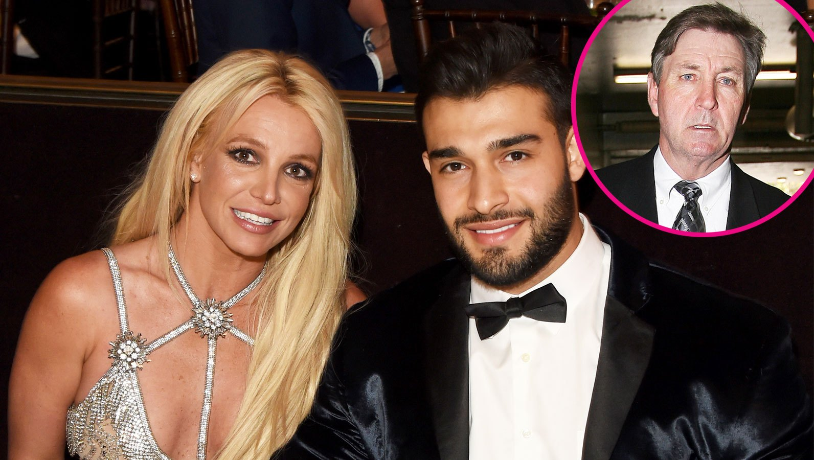 Britney Spears' Boyfriend Sam Asghari Has 'Been Supportive' Amid Dad Jamie Spears' Health Issues: 'He Treats Her Like a Queen'