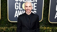 UsWeekly/ Stylish - Twitter Is Losing Their Minds Over Chris Messina's Platinum Blonde Hair on the 2019 Golden Globes Red Carpet