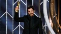Christian Bale Thanks Satan During His Golden Globes 2019 Acceptance Speech