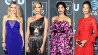Kristen Bell, Charlize Theron, Gemma Chan, and Nina Dobrev critics choice awards 2019
