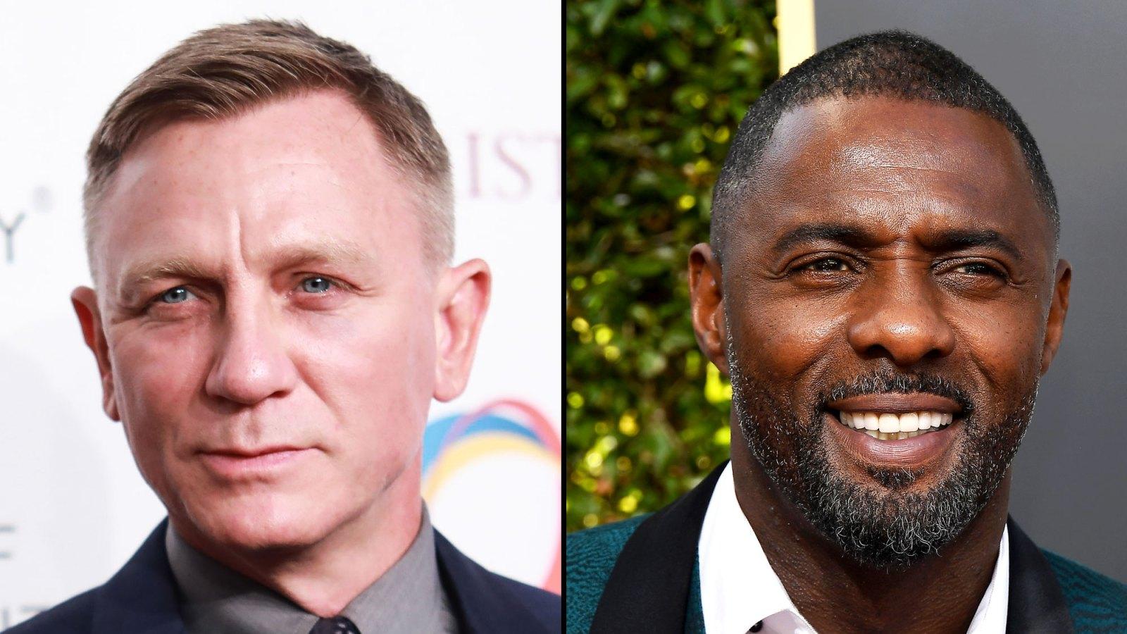 8204c583fe Golden Globes 2019  Daniel Craig Meets Potential James Bond Successor Idris  Elba