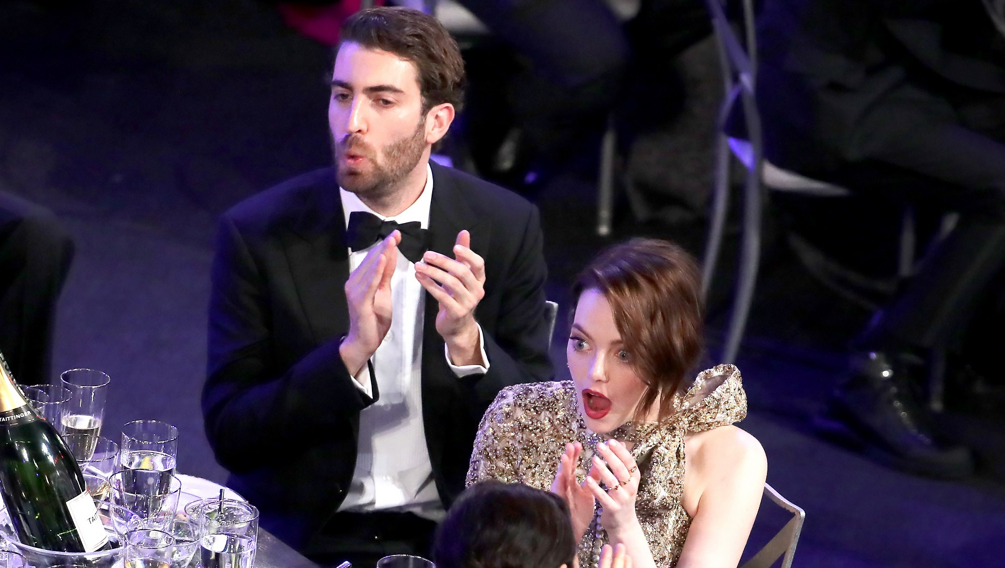 Emma-Stone-and-Dave-Mcary-SAG-awards-2019